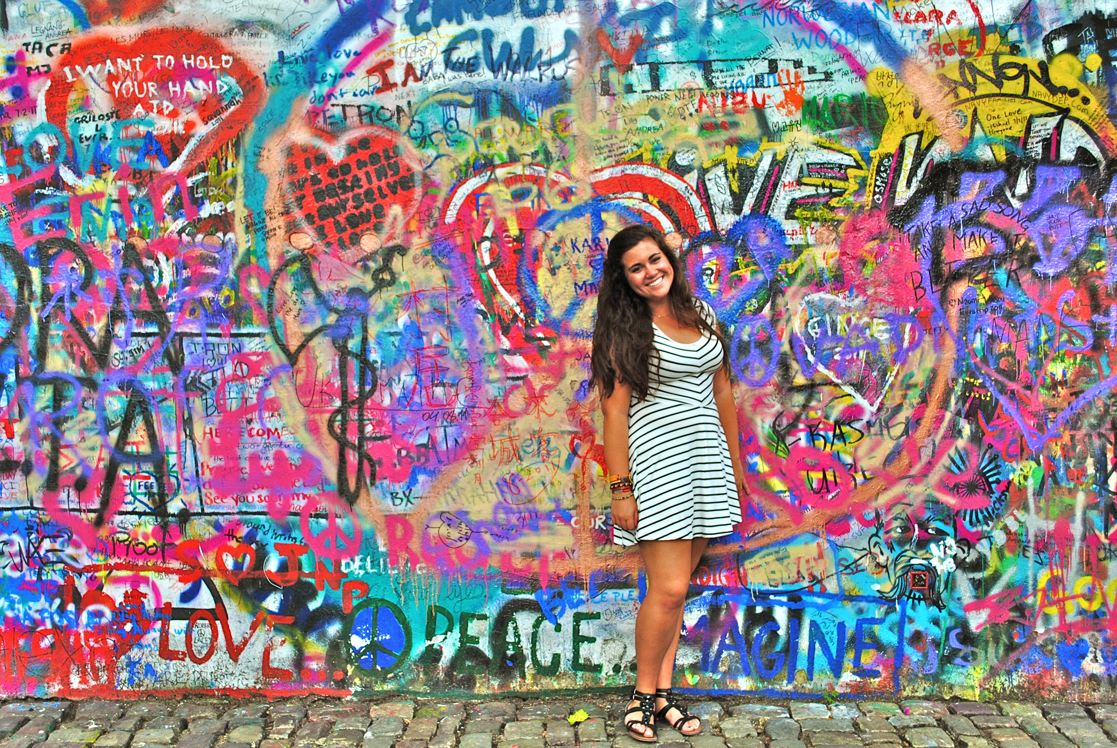 John Lennon Wall – Prague