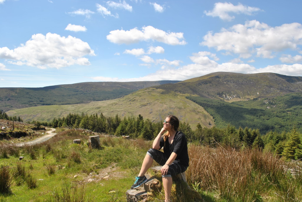 Glenmalure to  Glendalough