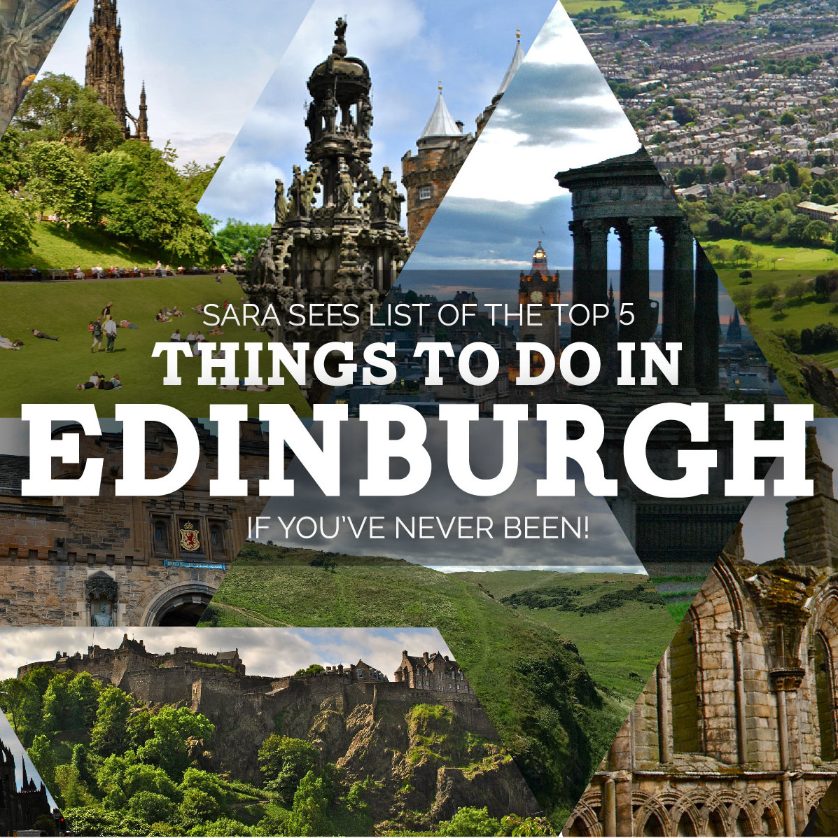 Places To Visit Over A Weekend: Top 5 Things To Do In Edinburgh (if You've Never Been